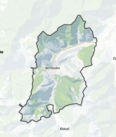 Karte / Wagrain