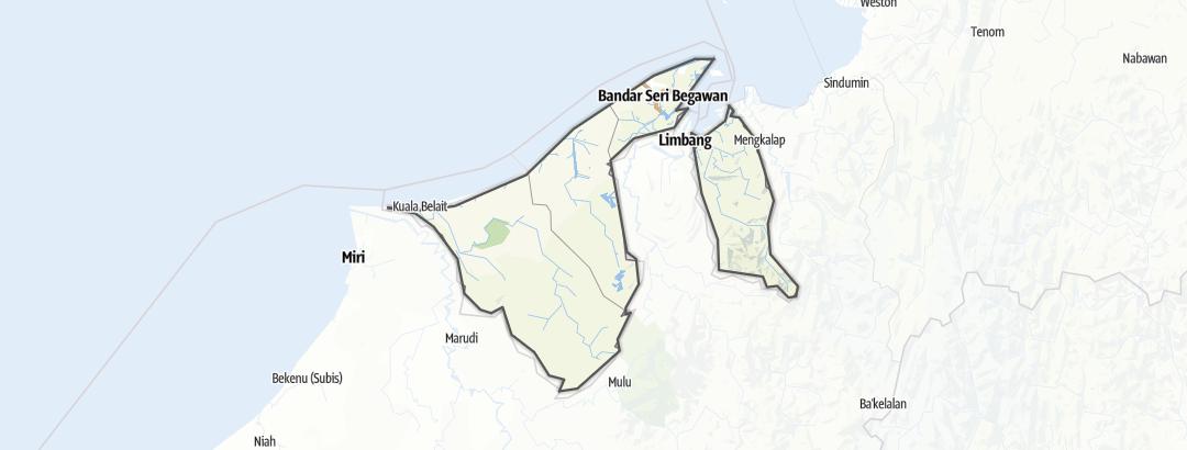 Karte / Brunei Darussalam