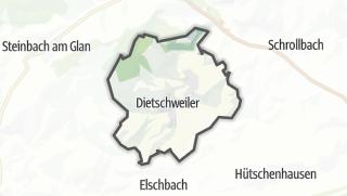 מפה / Nanzdietschweiler