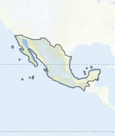 Map / Mexico