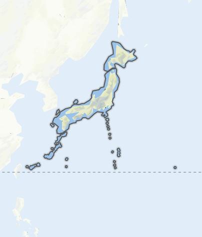 Karte / Japan