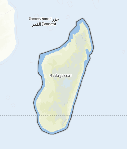 Map / Madagascar