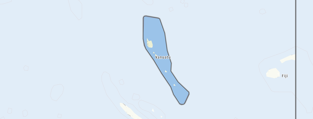 Karte / Vanuatu