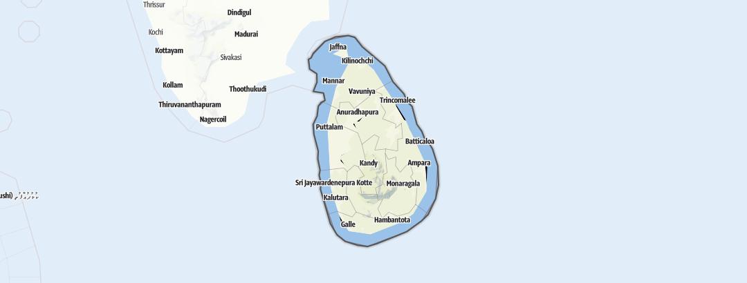 Map / Sri Lanka
