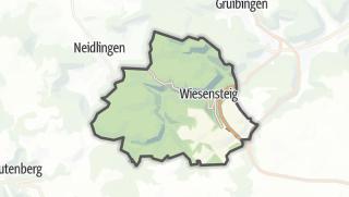 Karte / Wiesensteig