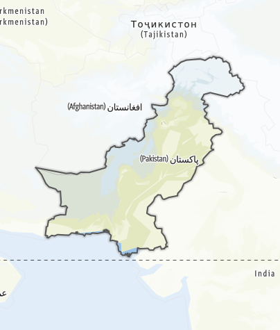 Map / Pakistan