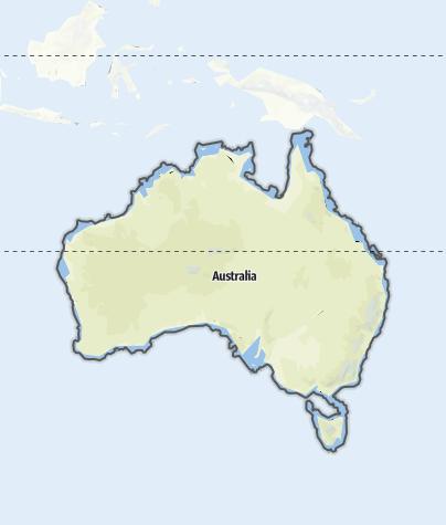 Map / Australia