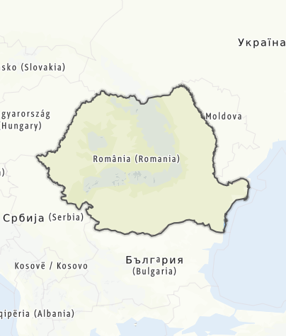 Karte / Rumänien