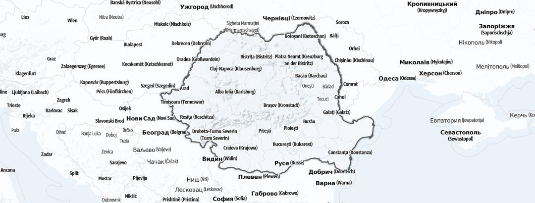 Kart / Truging i Romania