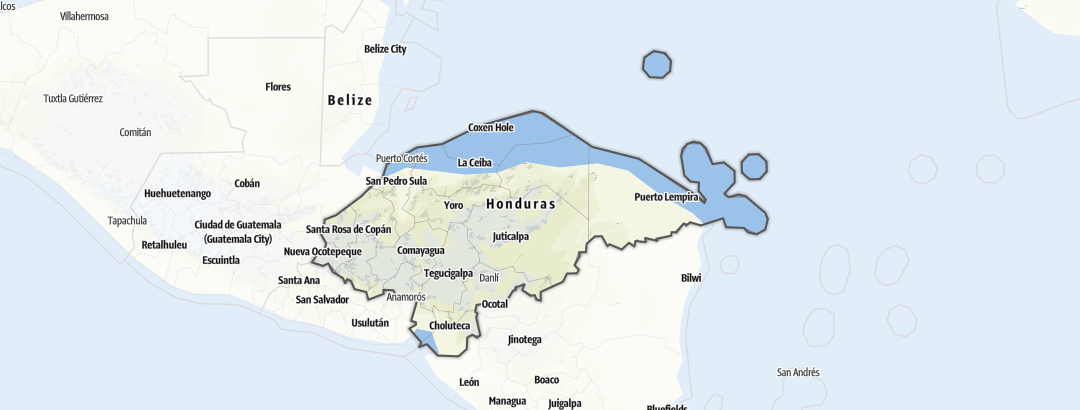 Map / Honduras