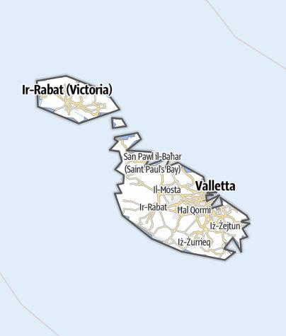 Map / Malta