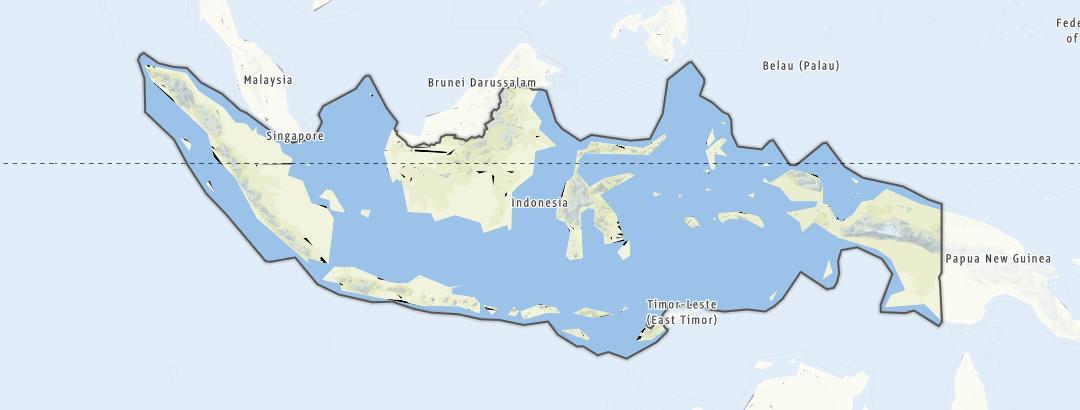 Mappa / Indonesia