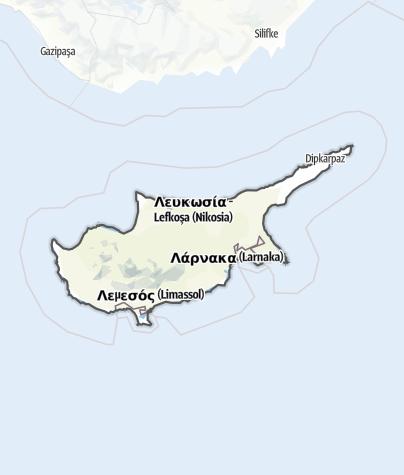 Karte / Zypern