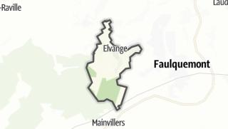 Mapa / Elvange