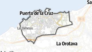 Carte / Puerto de la Cruz