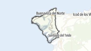 Carte / Buenavista del Norte