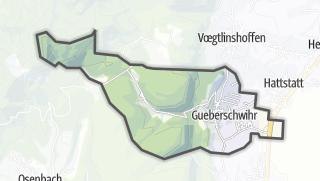 מפה / Gueberschwihr