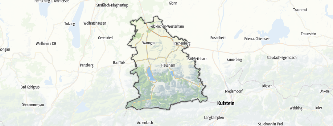 Térkép / Magashegyi túrázás,  Tegernsee-Schliersee területén