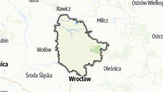 Mapa / Trzebnicki