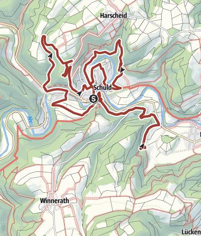 Karte / GEO-Pfad Schuld