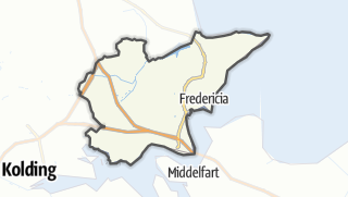 Kartta / Fredericia