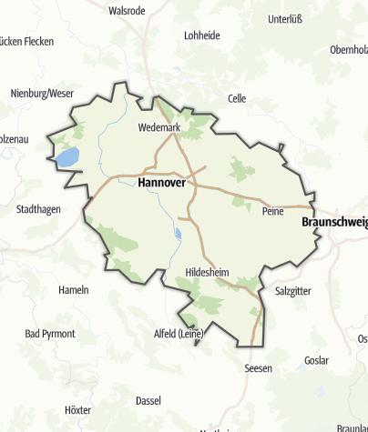 Karte / Hannover und Umgebung
