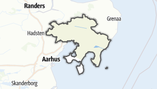 Hartă / Syddjurs