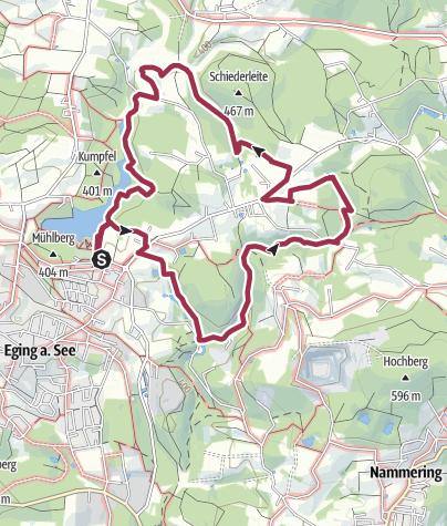Karte / Eging am See - Wasser satt!