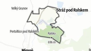 Mapa / Noviny pod Ralskem