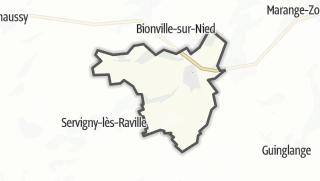 Mapa / Raville