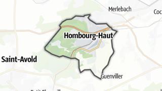 Mapa / Hombourg-Haut