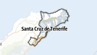 Carte / Santa Cruz de Tenerife