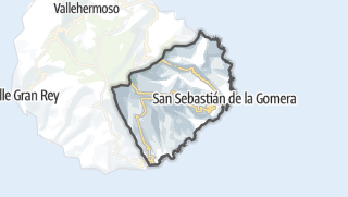 Carte / San Sebastián de la Gomera