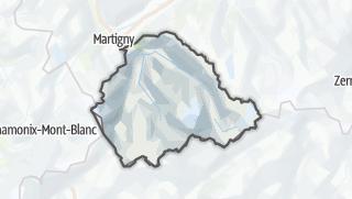 Karte / Entremont
