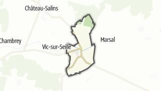Mapa / Moyenvic
