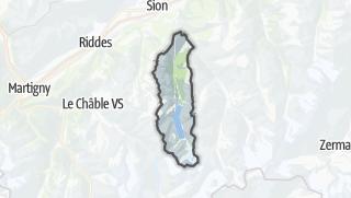 Térkép / Hérémence