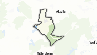 Mapa / Vibersviller