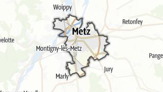 Mapa / Metz