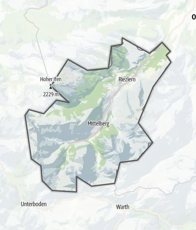 Map / Kleinwalsertal