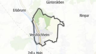 Mapa / Veitshöchheim