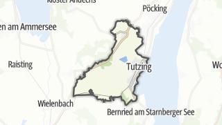 מפה / Tutzing