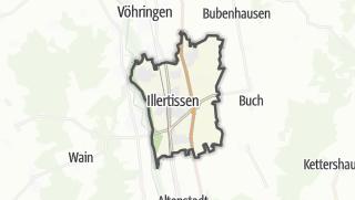 地图 / Illertissen