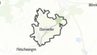 Cartina / Ebenweiler