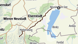 Karte / See2See - Etappe 01 v2 Neusiedl am See Rosalienkapelle