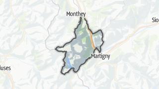 Karte / Saint-Maurice