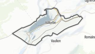 Карта / Vallorbe
