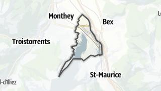 Térkép / Massongex