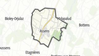 Карта / Assens