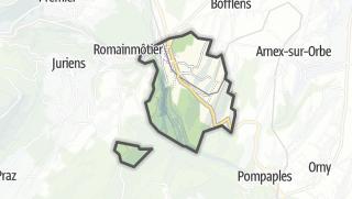 Карта / Croy