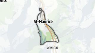 Térkép / Saint-Maurice